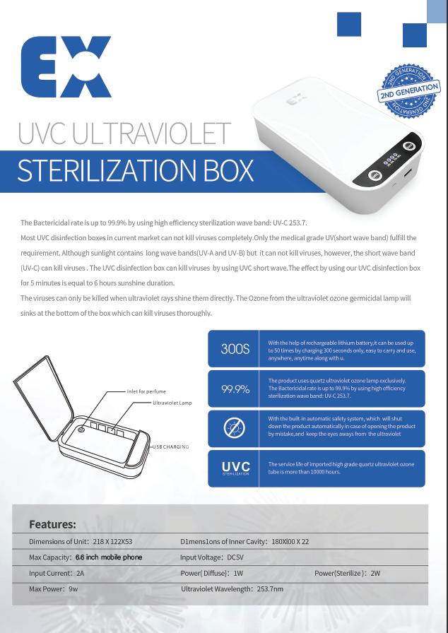 Multifunctional Disinfection Box